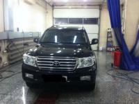Toyota Land Cruiser 2011 ЧЕРНЫЙ